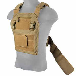 High Speed Slick Vest Plate Carrier