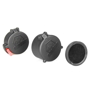 Kill Flash Lens Protector + Flip-up Covers for 40mm Rifle Scope