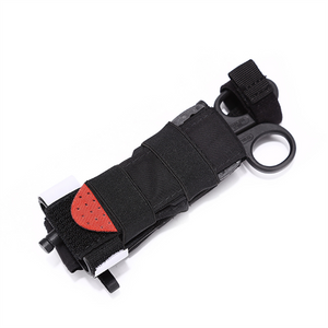 Quick Access MOLLE Holster for Combat Tourniquet & Trauma Scissors