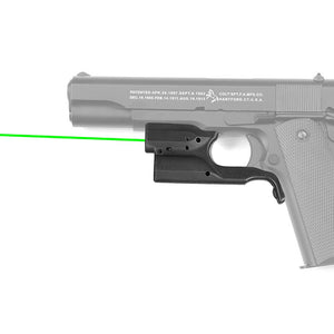 Green Laser Sight for 1911 style pistols