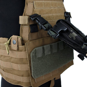 Modular Click-in Placcard Conversion Kit for Plate Carriers