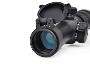 1-4x24 Dual Color Illuminated Mil-Dot Reticle Rifle Scope