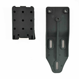 Universal Offset Belt Drop Adapter for Competition/Tactical Holsters