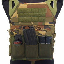 Load image into Gallery viewer, Elastic Triple MOLLE Magazine Pouch