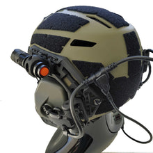 Load image into Gallery viewer, 250 Lumen Zoomable Tactical Helmet Light for ARC Rail