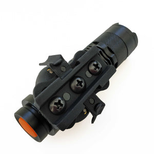 250 Lumen Zoomable Tactical Helmet Light for ARC Rail