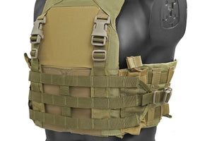 Clip-in MOLLE Chest Rig for LV-MBAV Low Visibility Slick Plate Carrier