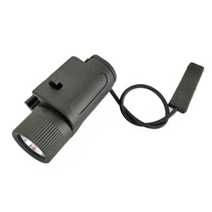 200 Lumen Picatinny Mount LED Weapon Light with Remote Switch