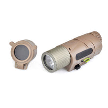 Load image into Gallery viewer, 200 Lumen Picatinny Mount LED Weapon Light with IR Filter