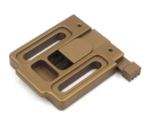 CNC Machined Universal Mount Plate for NVG Shrouds