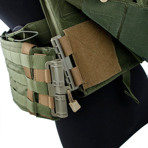 Quick Disconnect Side Entry Conversion for Plate Carriers