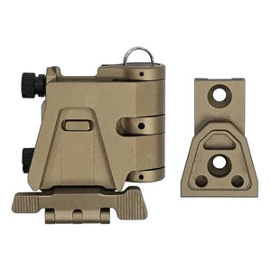CNC Machined Flip-to-Side Mount for EOTech G23 & G33 3X Magnifier