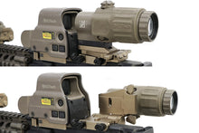 Load image into Gallery viewer, CNC Machined Flip-to-Side Mount for EOTech G23 & G33 3X Magnifier