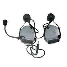 Load image into Gallery viewer, Armorwerx Closed-Ear Electronic Hearing Protection & Communication Headset with Helmet Rail Adapters