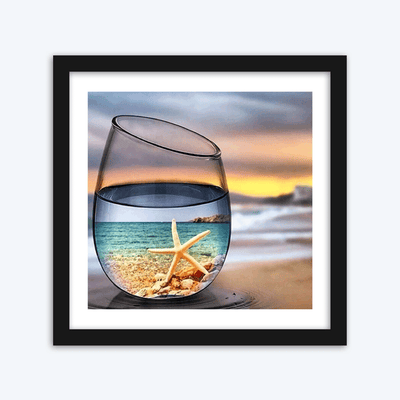 Glass of Grey Sunset