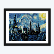 Hogwarts Starry Night