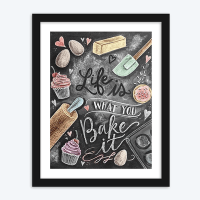 What You Bake It
