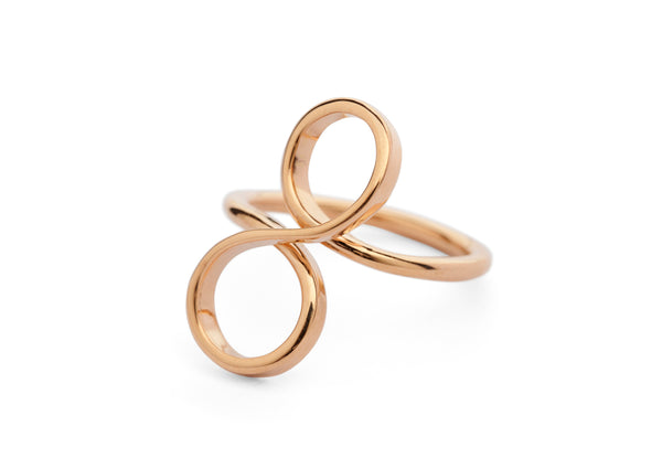 18 carat rose gold ring-McCaul