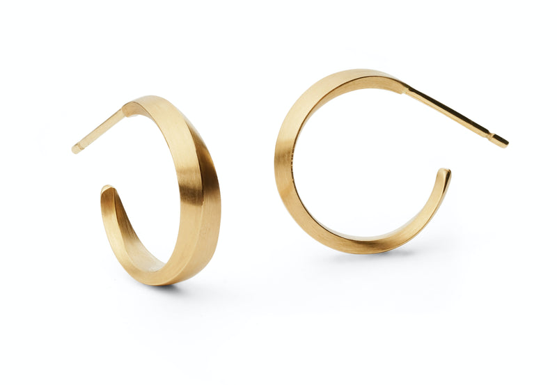 Mobius Hoop Earrings-McCaul
