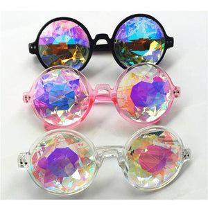 Women Fashion Kaleidoscope Multi-Color Glasses