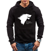 Load image into Gallery viewer, Men's Fashion Cotton Hooded  Game of Thrones