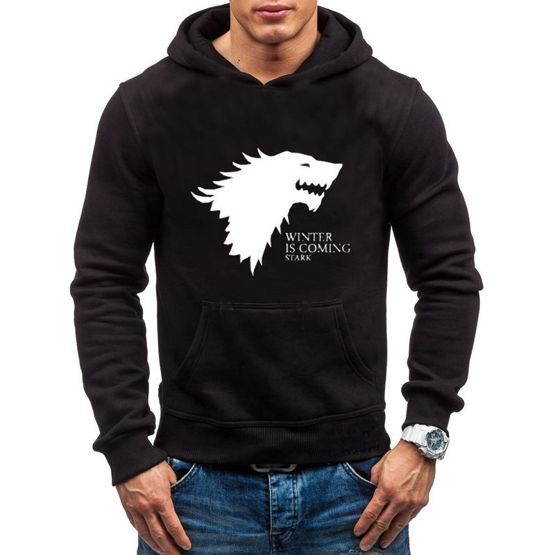 Men's Fashion Cotton Hooded  Game of Thrones