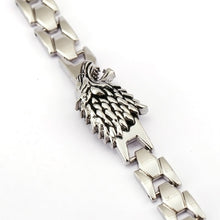 "Load image into Gallery viewer, Wolf Bracelets ""Stark House"""