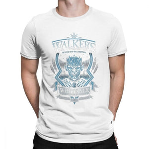 Walkers White Ale Night's King T-Shirt 100% Cotton