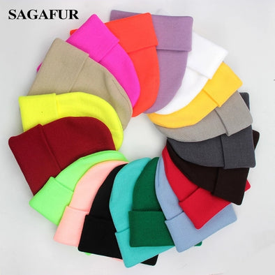Unisex Colored Beanies