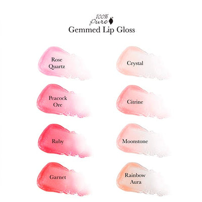 100% Pure Gemmed Lip Gloss Moonstone
