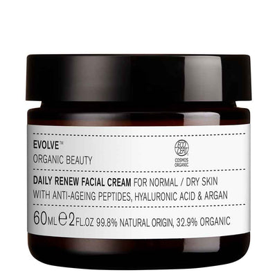 Evolve Organic Beauty Daily Renew Facial Cream Uudistava kasvovoide 60 ml