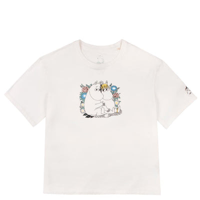 People Tree x Moomin Couple Teepaita