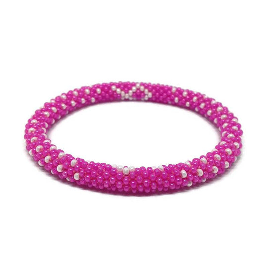 Nepal Bracelet: Breast Cancer Awareness