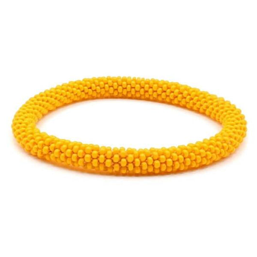 Nepal Bracelet: Orange Sunshine