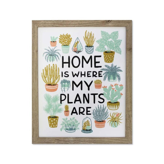 Home is Where my Plants Are Print