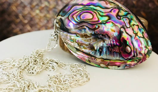 Abalone / Shell Necklace / Mother of Pearl