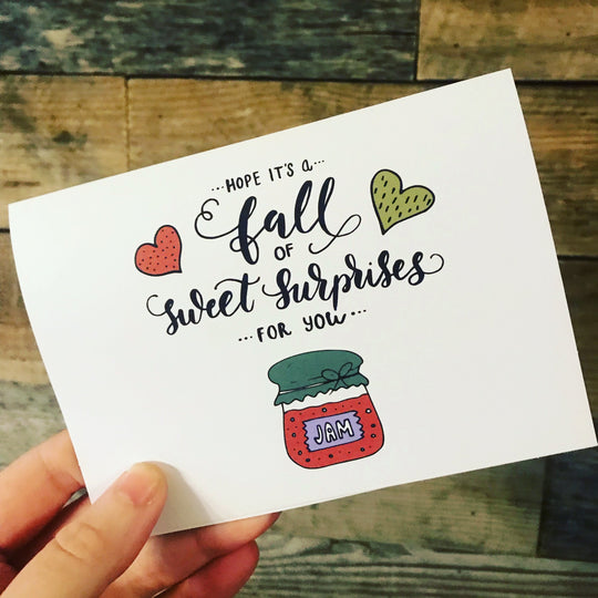 Fall Surprises Greeting Card