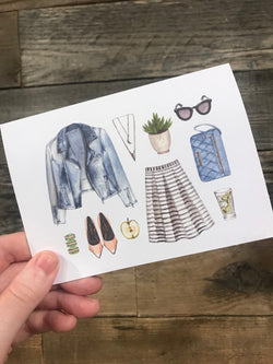 Boho card// blank cards// Greeting Cards / On trend cards