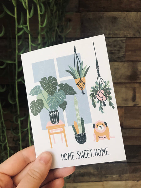 Home card// blank cards// Greeting Cards / House warming
