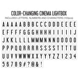 THE ORIGINAL CINEMA LIGHTBOX (COLOR CHANGING)