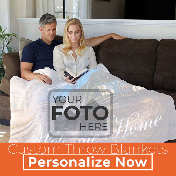 FOTO Blanket - Customized Photo Blankets