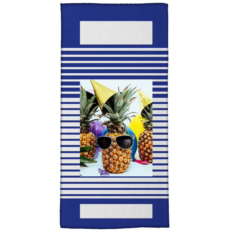 "Colors of Summer Medium Beach Towel (28"" x 58"")"