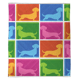 "Dachshund Plush Throw (50"" x 60"")"