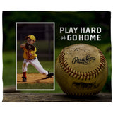 "Play Hard Baseball 100% Polyester Rally Towel (15"" x 18"")"