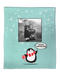 A Penguin Wonderland Personalized Throw