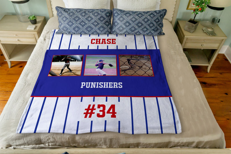 Little League MVP - A Photo Blanket Collaboration with Modern Sports Mom