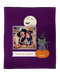 Personalized Halloween Photo Throw Blanket for Kids and Pets