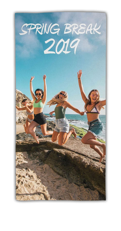 "FOTO Vision™ Small Beach Towel (22"" X 42"")"