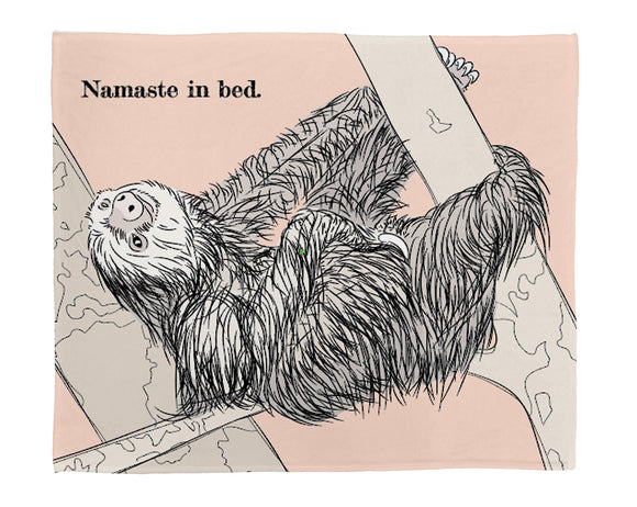 "Namaste Plush Throw (50"" x 60"")"