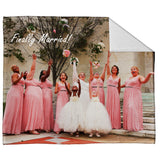 "FOTO Vision™ Plush Throw (50"" x 60"")"